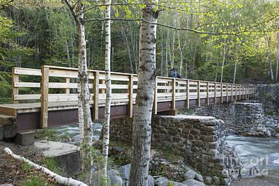 Pemigewasset Wilderness - White Mountains New Hampshire Art Print