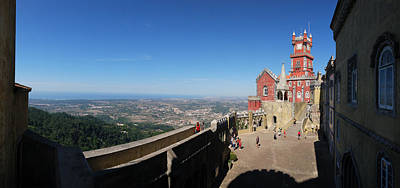 Photograph - Pena National Palace by Luis Esteves