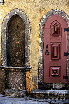 Photograph - Pena Palace Door by John Rizzuto
