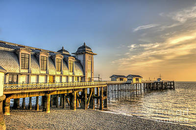 Photograph - Penarth Pier Dawn by Steve Purnell