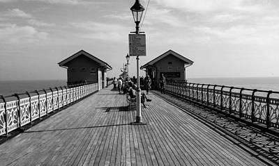 Photograph - Penarth Pier by Eliza Donovan