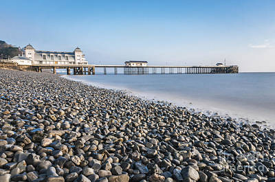 Photograph - Penarth Pier Long Exposure 2 by Steve Purnell
