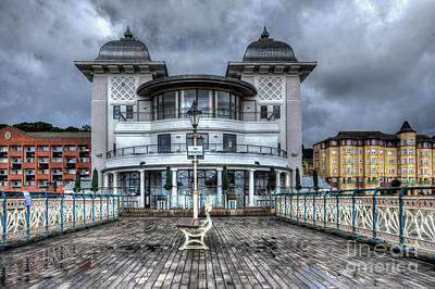Penarth Pier Pavilion 2 Art Print by Steve Purnell