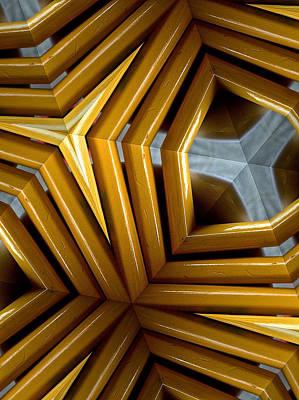 Photograph - Pencil Kaleidoscope by Bill Owen