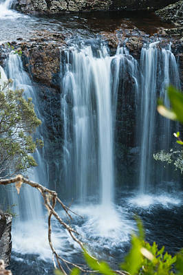 Photograph - Pencil Pine Falls Cradle Mountain by U Schade