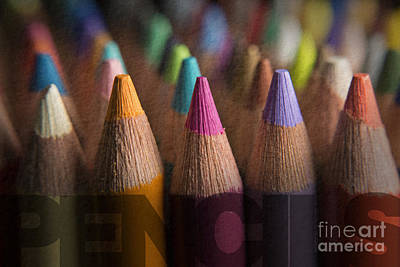 Photograph - Pencils by Art Whitton