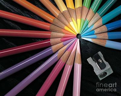 Pencils Print by Gary Gingrich Galleries