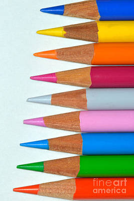Pencil Photograph - Pencils by George Atsametakis