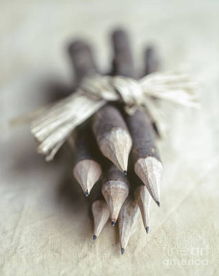 Photograph - Pencils by Hans Janssen