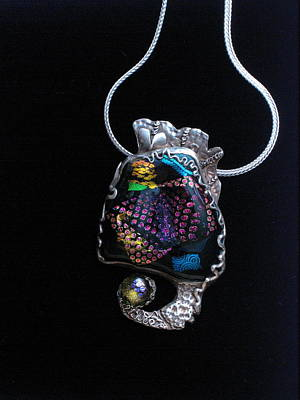 Glass Art - Pendant #1 by Valentina Plishchina