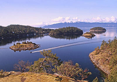 Photograph - Pender Harbour Coast by Peggy Collins