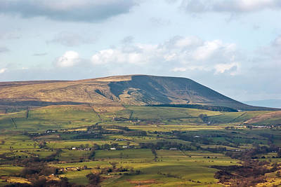 Photograph - Pendle Hill Lancashire England by Jane McIlroy