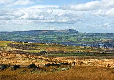 Photograph - Pendle Hill Lancashire by Jane McIlroy
