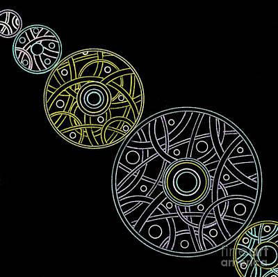 Steampunk Drawings - Pendulum by Amy Nelson