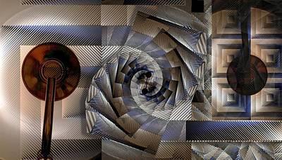 Pendulum Digital Art - Pendulum  by Ron Bissett