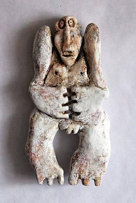 Gypsum Sculpture - Pendulus No. 2 by Mark M  Mellon