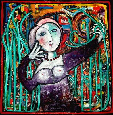 Painting - Penelope by Andrea Vazquez-Davidson