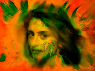 Buy Painting - Penelope Cruz by Marcello Cicchini