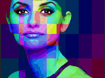 Penelope Wall Art - Painting - Penelope Cruz Sanchez by Tony Rubino