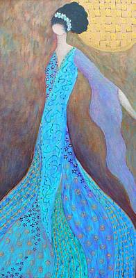 Designer Clothes Painting - Penelope by Jill Ferguson