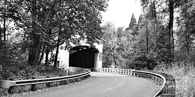 Photograph - Pengra Creek Covered Bridge Ll by Ansel Price