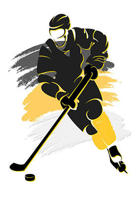Penguins Shadow Player2 Print by Joe Hamilton