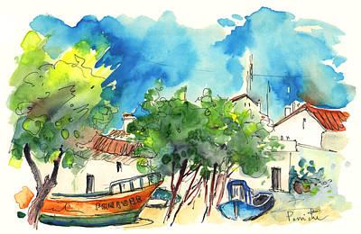 Peniche In Portugal 08 Art Print by Miki De Goodaboom