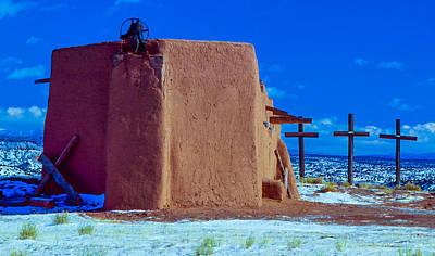 Penitente Morada Christian Church At Abiquiu New Mexico Original