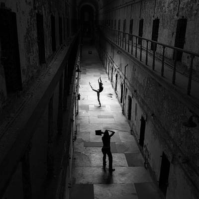 Eastern State Penitentiary Wall Art - Photograph - Penitentiary Ballet by Fussgangerfoto