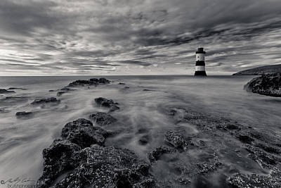 Photograph - Penmon Lighthouse by Beverly Cash