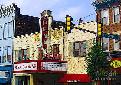 Penn Cinemas In Ohiopyle Art Print by Nina Silver