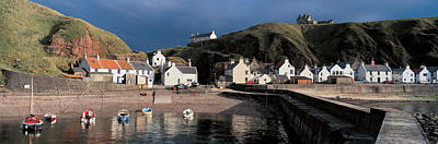 Pennan Banffshire Scotland Art Print by Panoramic Images