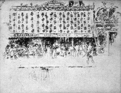 Painting - Pennell Brasserie, 1893 by Granger