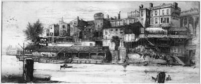 Pennell Callowhill Street Bridge, 1880 Art Print