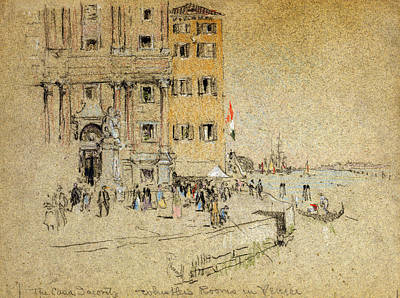 Drawing - Pennell Venice, C1901 by Granger