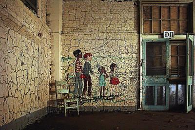 Pennhurst Childrens Playroom Print by W Scott Phillips