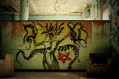 Pennhurst Demon Medusa Print by W Scott Phillips