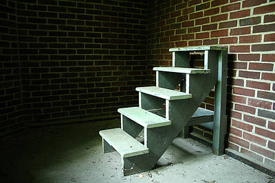 Pennhurst Nowhere Stairs Print by W Scott Phillips