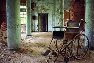 Pennhurst Wheelchair Print by W Scott Phillips