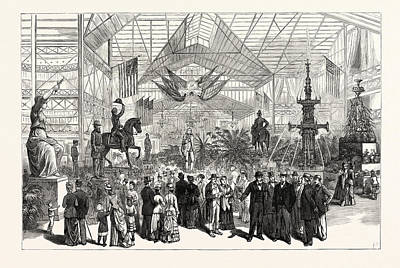 Pennsylvania Drawing - Pennsylvania Annual Fair Of The State Agricultural Society by American School