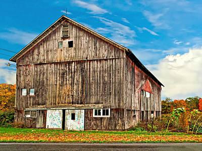 Pennsylvania Barn Art Print by Steve Harrington