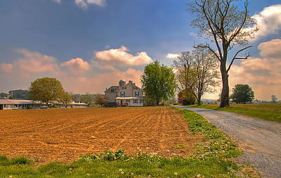Photograph - Pennsylvania Farm by Dyle   Warren
