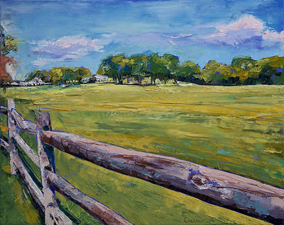 Pennsylvania Farm Painting - Pennsylvania Farm by Michael Creese