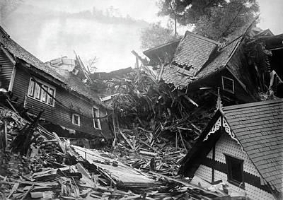 Photograph - Pennsylvania Flood, 1911 by Granger