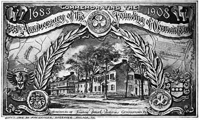 Pennsylvania Germantown Print by Granger