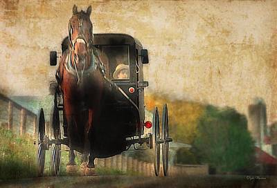 Photograph - Pennsylvania Is Amish Country by Dyle   Warren