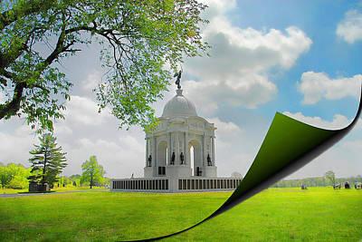 Photograph - Pennsylvania Memorial by Dyle   Warren