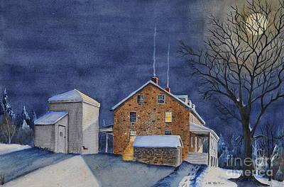 Pennsylvania Moon Art Print
