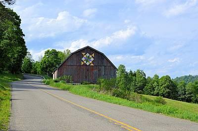 Photograph - Pennsylvania Quilt Barn #1 - Shunk Pa by Joel E Blyler