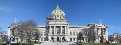 Pennsylvania State Capitol Art Print